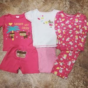 3 pairs pajamas